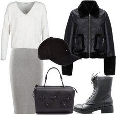 Mattinata di shopping  outfit donna Trendy per tutti i giorni  a5d42d417af