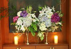 Rangkaian bunga meja&asessoris