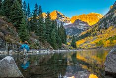 Aspen, Colorado, is a beautiful autumn spot