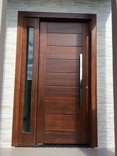 ideas main door design entrance for 2019 Modern Entrance Door, Modern Exterior Doors, Exterior Front Doors, Modern Wood Doors, Main Entrance Door Design, Modern Front Door, Front Door Entrance, Exterior Paint, Wooden Front Door Design