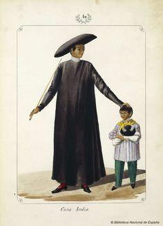 Cura Indio. Lozano, José Honorato 1821- — Dibujo — 1847 Philippines Outfit, Philippines Fashion, Philippines Culture, Manila, Arte Filipino, Dress Design Drawing, Philippine Art, Filipiniana, Historical Art