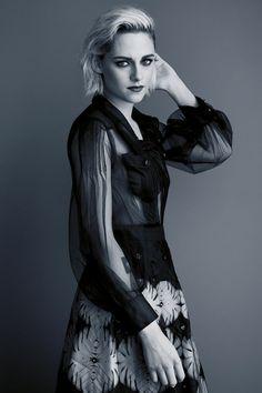 Kristen Stewart in Chanel | Cannes 2016 Portraits by Benoit Peverelli for Madame Figaro