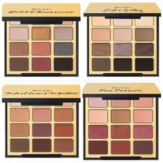 These curated palettes features 12 mega-pigmented, airbrushed mattes, and shimmer soaked metallics to accentuate and sculpt one-of-a-kind depth and dimension. Drugstore Eyeshadow Palette, Drugstore Makeup, Makeup Brands, Makeup Palette, Best Makeup Products, Warm Eyeshadow Palette, Matte Eyeshadow, Glam Makeup, Beauty Makeup