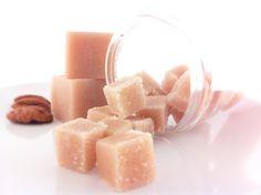 Caramelized Pralines  Sugar Scrub Cubes  Fall by SymbolicImports, $10.00 Sugar Scrub Cubes, Caramel, Fall, Etsy, Sticky Toffee, Autumn, Candy, Fall Season, Fudge