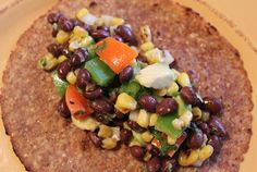 Black Bean Tacos Recipe Southwestern Black Bean Tacos: Easy, Healthy, and Yummy: Perfect for the Daniel fast.Southwestern Black Bean Tacos: Easy, Healthy, and Yummy: Perfect for the Daniel fast. Mexican Food Recipes, Whole Food Recipes, Vegetarian Recipes, Cooking Recipes, Healthy Recipes, Cooking Ribs, Cooking Bacon, Diabetic Recipes, Delicious Recipes