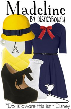 Madeline by Disney Bound I dont like the shoes but I LOVE LOVE LOVE everything else!