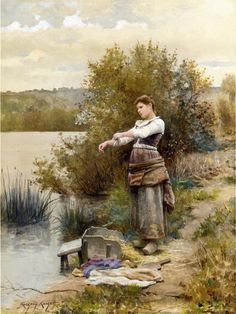 Knight Daniel Ridgway ~ The Laundress