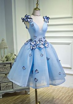 Outlet Admirable Blue Homecoming Dresses, Prom Dress Cheap, Homecoming Dresses Short - Homecoming Dresses Cheap, Blue Prom Dress Source by - Junior Homecoming Dresses, Prom Dresses Blue, Cheap Prom Dresses, Prom Party Dresses, Pretty Dresses, Beautiful Dresses, Flower Dresses, Short Dresses, Wedding Dresses