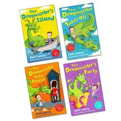 The Dragonsitter Pack x 4 Linen Cupboard, Going On Holiday, Roald Dahl, Special Birthday, Cool Pets, Party Looks, Hilarious, Funny, Babysitting