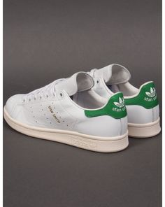 huge discount fd759 91d75 Adidas Originals Stan Smith Trainers in White   Green (Gold Print) (UK  Sizes)