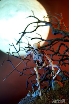 Skeleton, Action Figures, Owl, Bird, Prints, Shops, Painting, Animals, Accessories