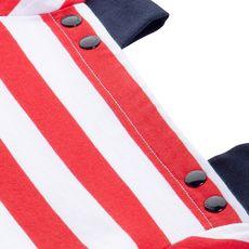 Petit Bateau - Robe à rayures - Rouge - 114082