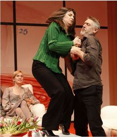 Pamela Rabe in God of Carnage at MTC in 2009. ""