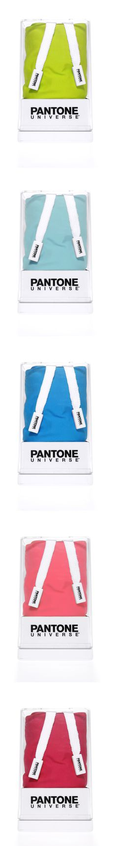 Pantone Universe Beachwear Packagings    Collection 1