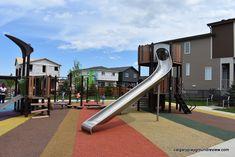 Curious Park Playground Park Playground, Sage, Mansions, Street, House Styles, Places, Salvia, Villas, Roads