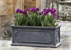 Hampshire Window Box S/4Lead lite, 24.6 x 6.75 x 6.75 17.5 x 4.75 x 4.75