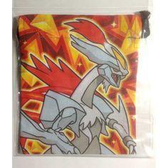 Pokemon Center 2012 Black White Overdrive Kyurem Drawstring Dice Bag