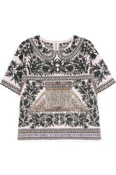 J.Crew Jemima embellished merino wool top | NET-A-PORTER