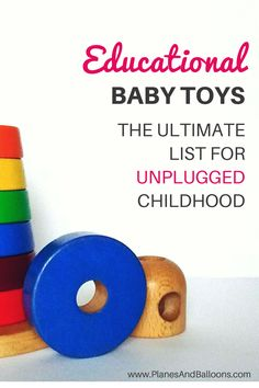 Classic baby toys by age to stimulate your baby's development. Best baby toys are often the most simple ones!