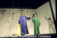 """Peter Brook's radical brilliant """"empty space"""" A Midsummer Night's Dream (1970)."""
