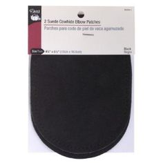 Amazon.com: Dritz Leather Elbow Patches - Black 4-3/4 by 6-1/2 inches - 2 Count: Arts, Crafts & Sewing