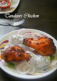 Tasty Appetite: Grilled Tandoori Chicken / Restaurant Style Tandoori Chicken ( in oven ) :
