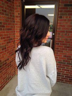 Mahogany Hair Color Inspiration