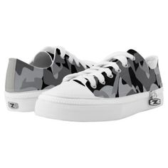 #Camouflage design pattern Low-Top sneakers - #womens #shoes #womensshoes #custom #cool