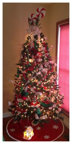 Christmas Tree Themes - Candy Christmas
