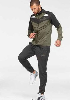9b98b1b12 PUMA SOCCER POLY TRACKSUIT IN BLACK - BLACK.  puma  cloth