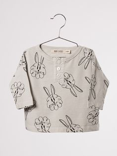2def9021ae3 Bobo Choses AW16 Baby Buttons Bunnies AO T-Shirt - at www.scandimini.co.uk