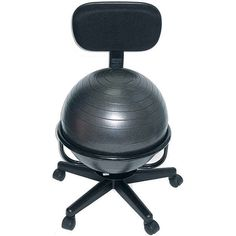 An office chair-slash-exercise ball. | 22 Ingenious Products That Will Make Your Workday So Much Better