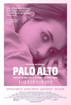 Watch the movie trailer for Palo Alto Directed by Gia Coppola and starring Emma Roberts, James Franco, Jack Kilmer and Nat Wolff. A dark drama centered on a group of teens with a penchant for finding trouble. Val Kilmer, Hd Movies, Movies To Watch, Movies Online, Movie Tv, Films, Best Indie Movies, Trek Movie, Movie Club