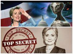 Hillary Clinton Promete Desclasificar Pruebas de la Existencia de Extraterrestres