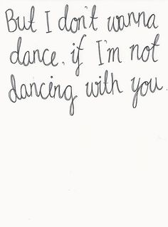 You damn well better be talking to yourself! To Dance like nobodys watching is to do just that and that is the very best way to Dance.