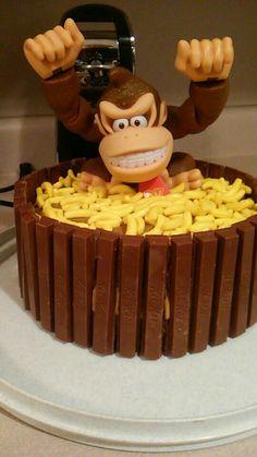 My Donkey Kong Cake