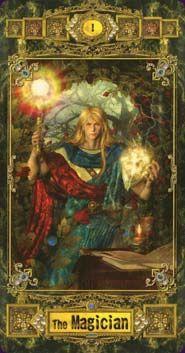 Magician from Tarot Deck of Athennium