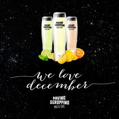 Pavino Sgroppino - we love december