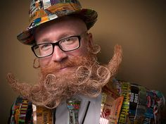 17 Amazing Competitors From The National Beard And Mustache Championships!