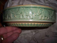 Elephants..McCoy pottery