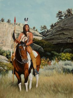 Land Of Lakota, by artist Native Indian, Native Art, American Indian Art, Native American Indians, Cowboy Artwork, Tribal Images, Native American Pictures, Painting Competition, Indian Artist