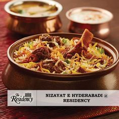 Step into the extravagant delicacies from The City of Nawabs at #TheResidency. Indulge in an exquisite spread inspired from the tastes of royalty. For Bookings Call - +91 44 42992008