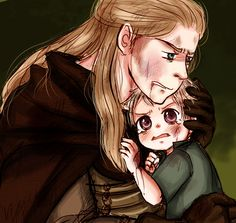 "APH: Vaterschaft by Assby.deviantart.com on @deviantART - From the artist's comments: ""I see Germania as a standoffish parent who allows his children to make and learn from their own mistakes, but I can also see him being fiercely protective when he needs to be!!"" That's little Gilbert he's shielding :)"