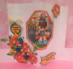 """Mother's Day Card creating card file from blogger, """"A Star for Cheimi"""" and Treasure Box Designs. Love A Star for Cheimi, super talented blogger."""