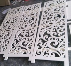 restaurant entrance Carved wood MDF board pvc board hollow board partition wall living room bedroom restaurant entrance through the flower board - Taobao Depot, Taobao Agent Living Room Bedroom, Living Room Decor, Wall Partition Design, Flower Ceiling, Decorative Screen Panels, Pvc Wall, Wall Tv, Pooja Room Design, Pooja Rooms