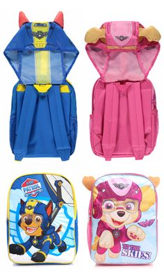 These Hooded Paw Patrol Backpacks are just the ticket for little ones starting School or Nursery! Baby Girl Toys, Toys For Girls, Back To School Uk, Paw Patrol Backpack, Snoopy Happy Dance, Peppa Pig House, Army Men Toys, Paw Patrol Birthday Cake, Batman Love