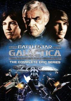 TV Series - Battlestar Galactica: The Complete Epic Series Battlestar Galactica, Kampfstern Galactica, Sci Fi Tv Series, Movies And Series, Movies And Tv Shows, Film Movie, Tv Vintage, Tv Retro, 1970s Tv Shows