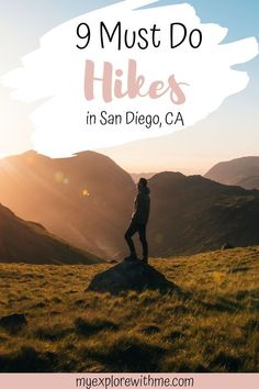 Are you visiting San Diego and looking for a fun way to stay active? This article goes over the 9 best hiking trails San Diego has to offer. San Diego Hiking, San Diego Travel, San Francisco Travel, Visit California, California Travel, Southern California, Montezuma, Monteverde, Visit San Diego