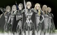 Claymore - Clare Theresa anime | Zibate Debate: Claymore, The Dark Fantasy That Deserves A Live ...