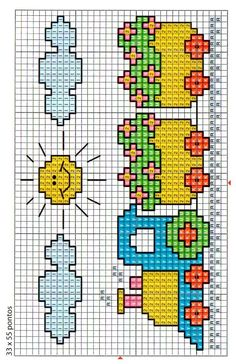 Most current Screen Cross Stitch for kids Thoughts Cross-stitch is an easy kind of needlework, perfect to the materials there for stitchers today. Baby Cross Stitch Patterns, Cross Stitch For Kids, Cross Stitch Borders, Cross Stitch Baby, Cross Stitch Alphabet, Cross Stitch Charts, Baby Knitting Patterns, Cross Stitch Designs, Cross Stitching